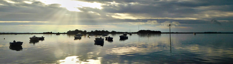 Camping dans le Golfe du Morbihan