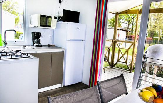 location mobil home avec terrasse au morbihan