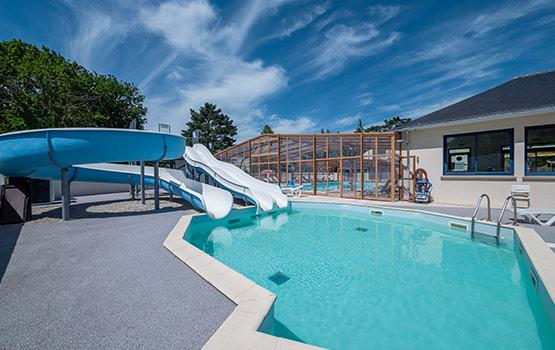 Camping 3 toiles bretagne piscine avec toboggan camping Camping ardeche 3 etoiles avec piscine