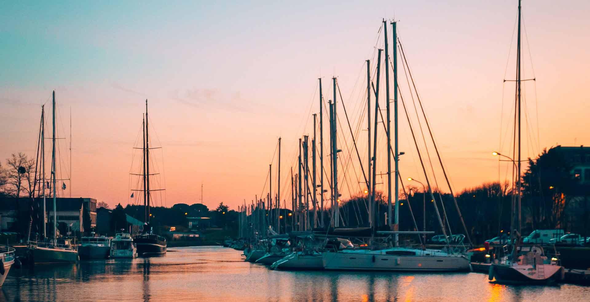 port croisière golfe du Morbihan